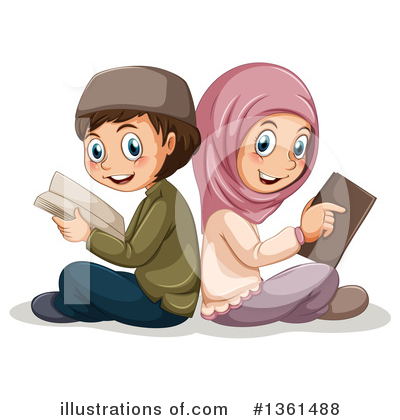 Muslim Clipart #1361488 by Graphics RF