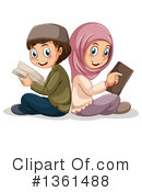 Royalty-Free (RF) Muslim Clipart Illustration #1361488