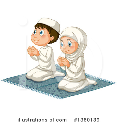 Muslim Clipart #1380139 by Graphics RF
