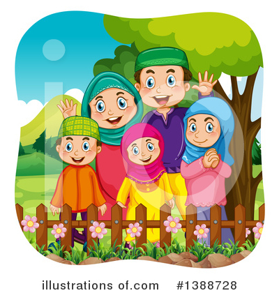 Royalty-Free (RF) Muslim Clipart Illustration by Graphics RF - Stock Sample #1388728