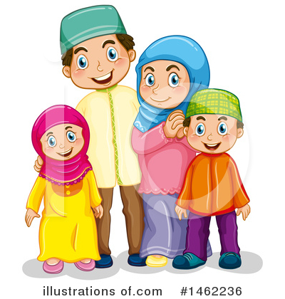 Muslim Clipart #1462236 by Graphics RF