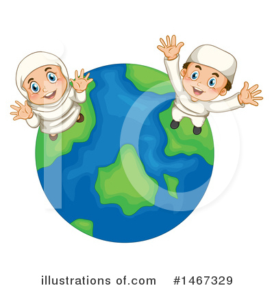 Muslim Clipart #1467329 by Graphics RF