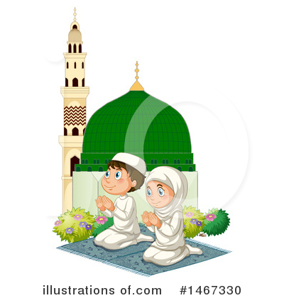 Muslim Clipart #1467330 by Graphics RF