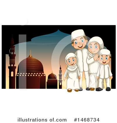 Mosque Clipart #1468734 by Graphics RF