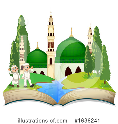 Mosque Clipart #1636241 by Graphics RF