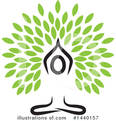 Namaste Clipart #1440157 by ColorMagic