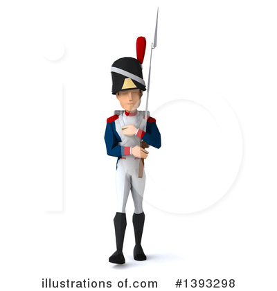 Napoleonic Soldier Clipart #1393298 by Julos