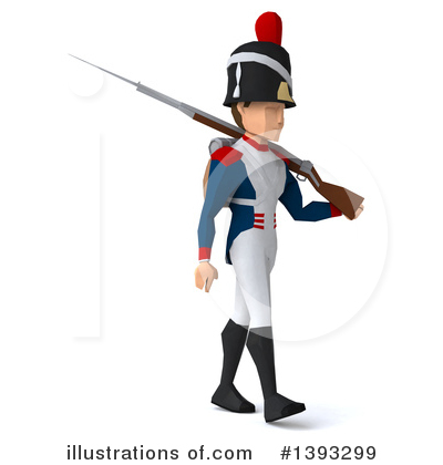 Napoleonic Soldier Clipart #1393299 by Julos