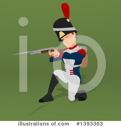 Napoleonic Soldier Clipart #1393303 by Julos