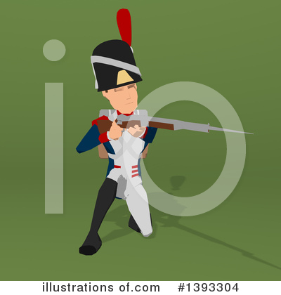 Napoleonic Soldier Clipart #1393304 by Julos