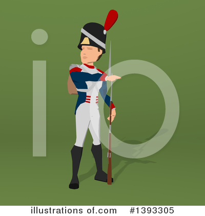 Napoleonic Soldier Clipart #1393305 by Julos