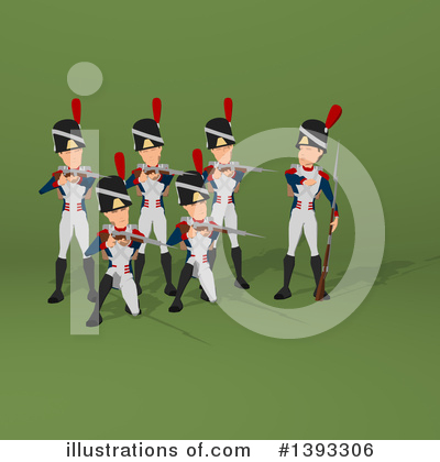 Napoleonic Soldier Clipart #1393306 by Julos