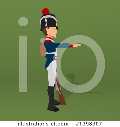Napoleonic Soldier Clipart #1393307 by Julos