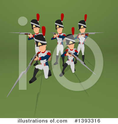 Napoleonic Soldier Clipart #1393316 by Julos