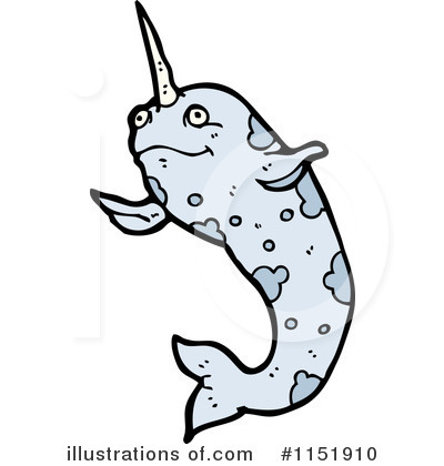 Narwhal Clipart #1151910 by lineartestpilot