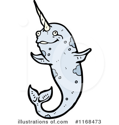 Narwhal Clipart #1168473 by lineartestpilot
