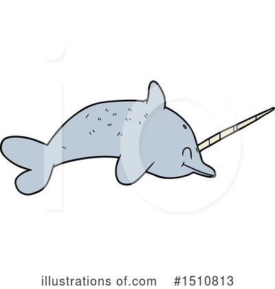 Narwhal Clipart #1510813 by lineartestpilot