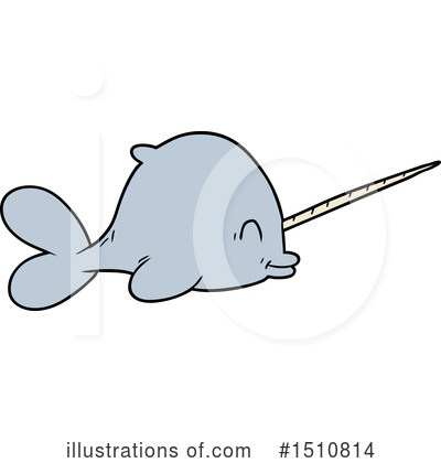 Narwhal Clipart #1510814 by lineartestpilot