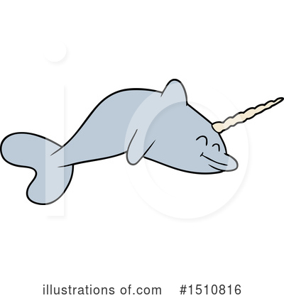 Narwhal Clipart #1510816 by lineartestpilot