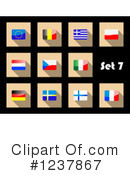 National Flag Clipart #1237867 by Vector Tradition SM