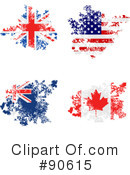 Royalty-Free (RF) National Flag Clipart Illustration #90615