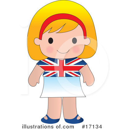 Royalty-Free (RF) Nationality Clipart Illustration by Maria Bell - Stock Sample #17134