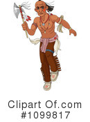 Royalty-Free (RF) native american Clipart Illustration #1099817