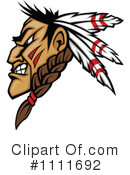 Royalty-Free (RF) Native American Clipart Illustration #1111692