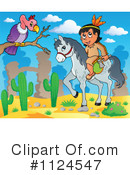 Royalty-Free (RF) Native American Clipart Illustration #1124547