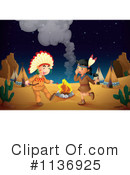 Royalty-Free (RF) Native American Clipart Illustration #1136925