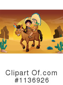 Royalty-Free (RF) Native American Clipart Illustration #1136926