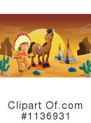 Royalty-Free (RF) Native American Clipart Illustration #1136931
