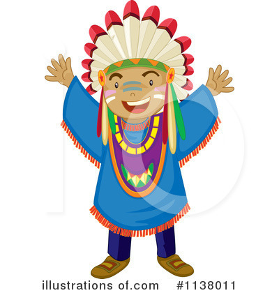 Native American Clipart #1138011 by Graphics RF