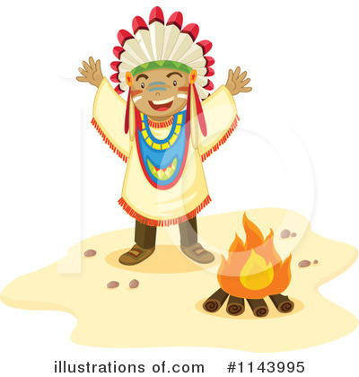 Native American Clipart #1143995 by Graphics RF