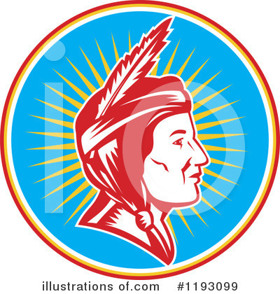 Native American Clipart #1193099 by patrimonio