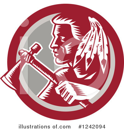 Native American Clipart #1242094 by patrimonio