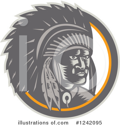 Chief Clipart #1242095 by patrimonio