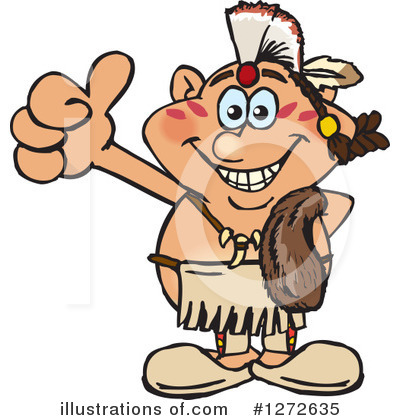 Native American Clipart #1272635 by Dennis Holmes Designs