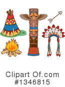 Native American Clipart #1346815