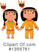 Native American Clipart #1356761 by Pushkin