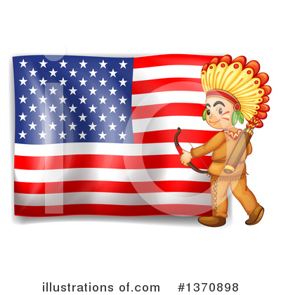 Royalty-Free (RF) Native American Clipart Illustration by Graphics RF - Stock Sample #1370898