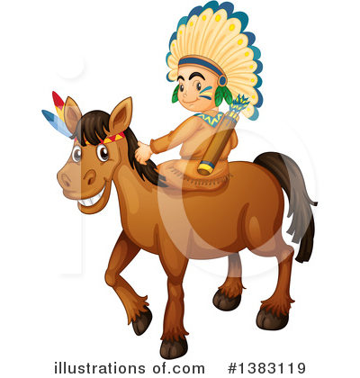 Native American Clipart #1383119 by Graphics RF
