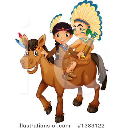 Native American Clipart #1383122 by Graphics RF