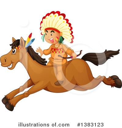 Native American Clipart #1383123 by Graphics RF