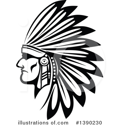 Chief Clipart #1390230 by Vector Tradition SM