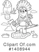 Native American Clipart #1408944