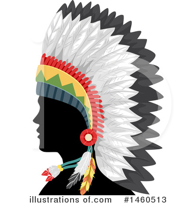Native American Clipart #1460513 by BNP Design Studio