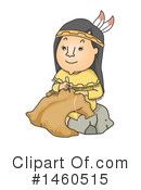 Native American Clipart #1460515 by BNP Design Studio