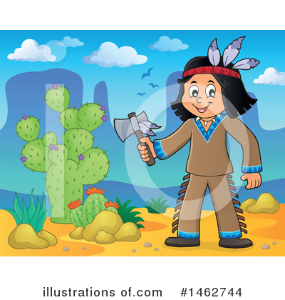 Native American Clipart #1462744 by visekart