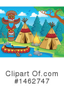 Royalty-Free (RF) Native American Clipart Illustration #1462747